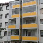 Fischerbalkone mit Balkonverglasung
